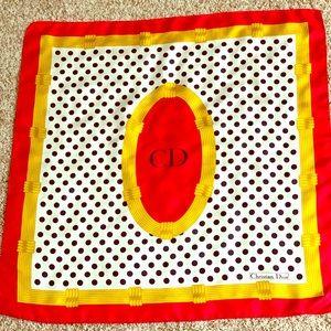 Christian Dior monogram silk scarf